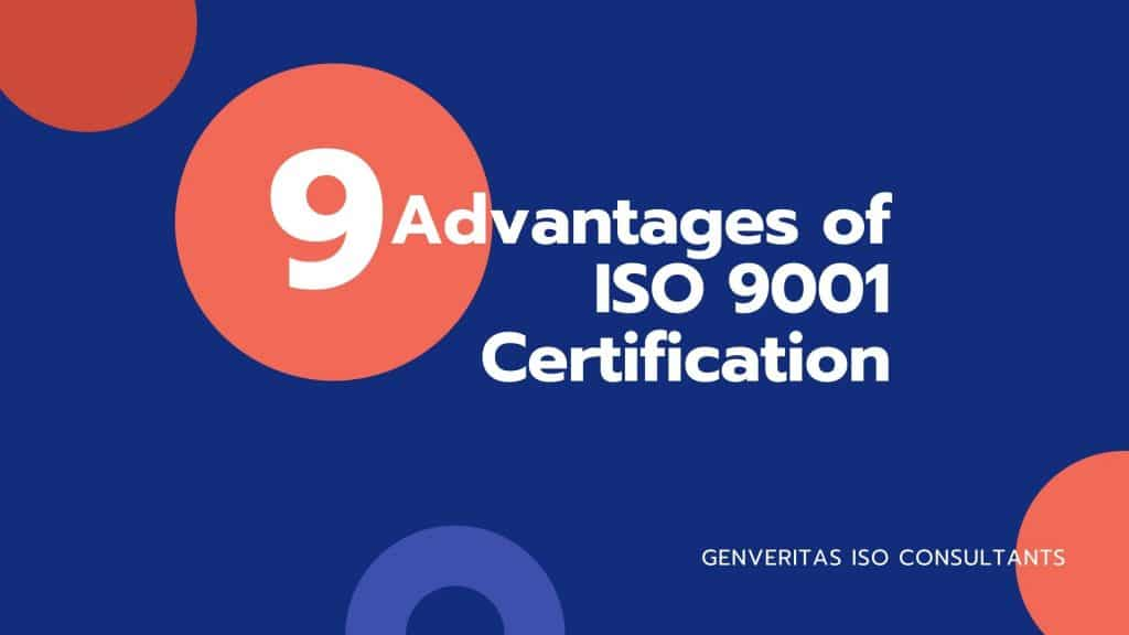 Advantages ISO Certification in Bangalore