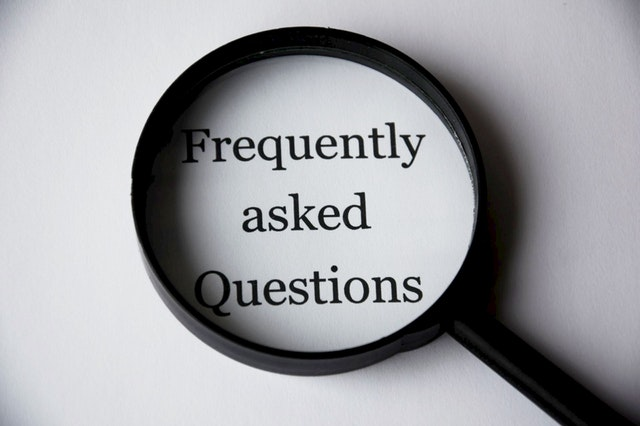 ISO FAQ (Frequently Asked Questions)