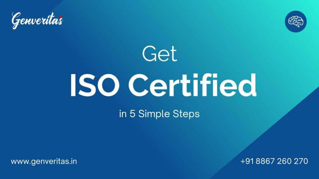 5 Steps of ISO Certification