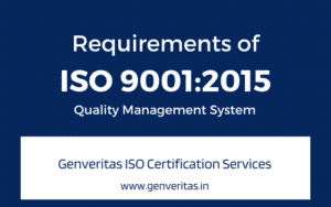 Requirements of ISO 9001